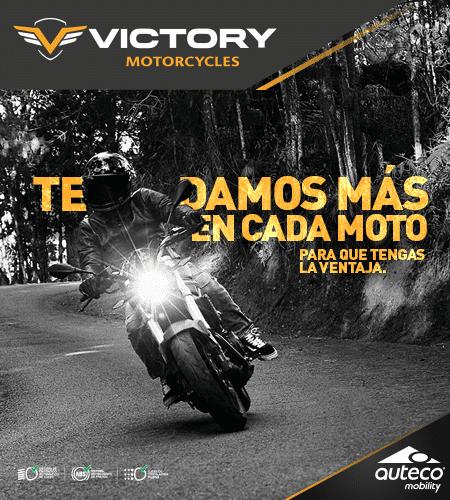 Victory Black - Una moto con un estilo deseable, diseñada para causar un efecto