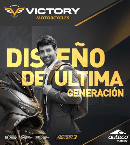 Pasa de salir a sobresalir - Victory Motorcycle
