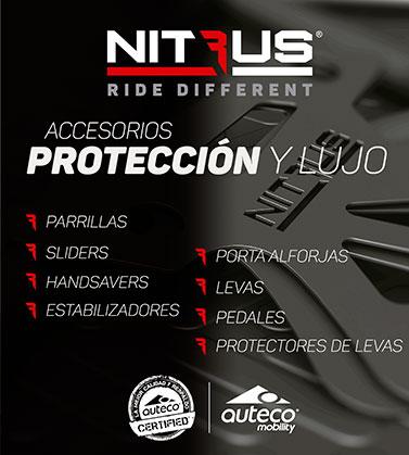 Accesorios para moto Nitrus - Auteco Mobility