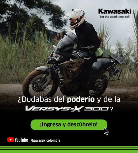 Dudabas del poderio de la nueva Versys x 300, enterate - Kawasaki