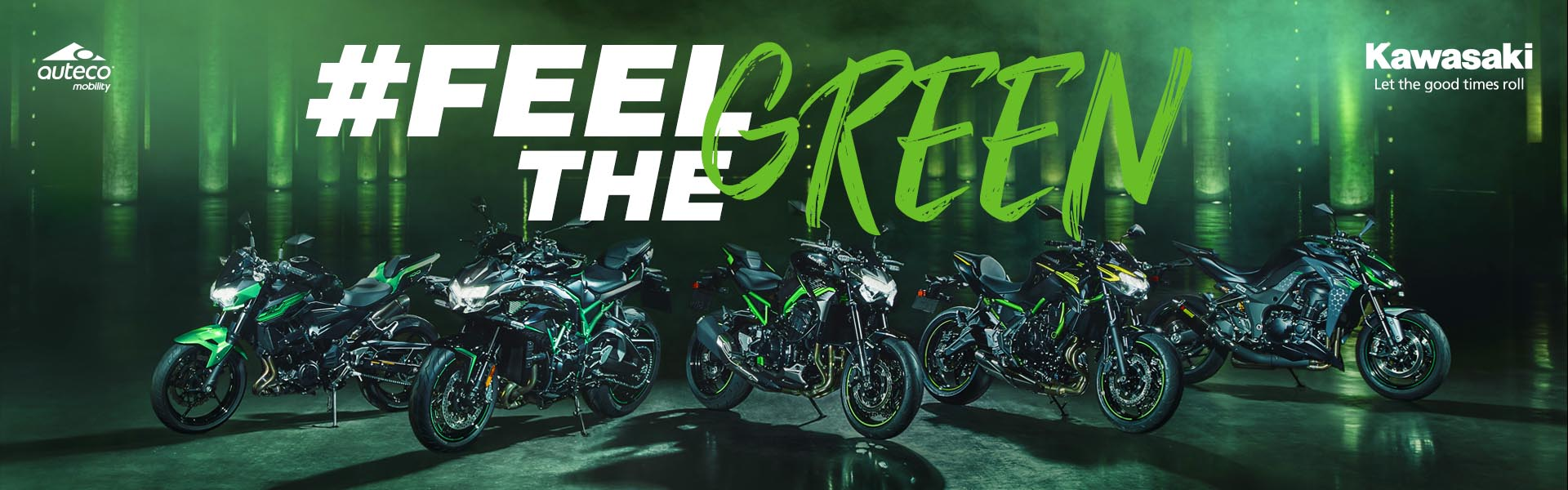 #FeelGreen - Kawasaki
