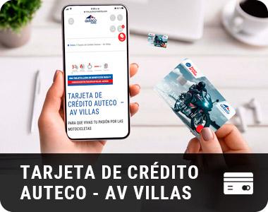 TARJETA DE CREDITO AV-VILLAS