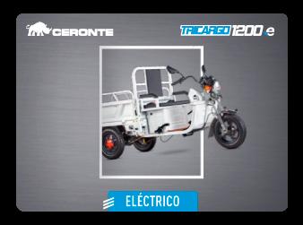 MOTOCARRO CERONTE TRICARGO 1200 ELÉCTRICO