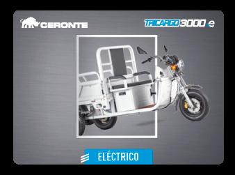 MOTOCARRO CERONTE TRICARGO 3000 ELÉCTRICO